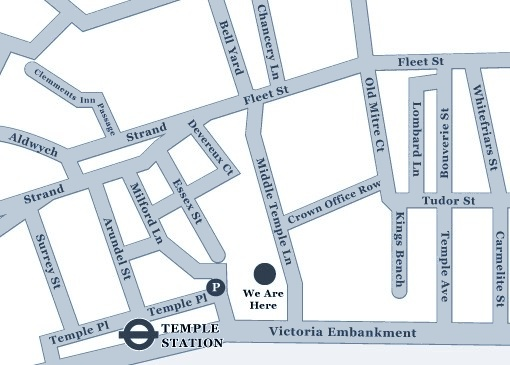3 Temple Gardens Location Map